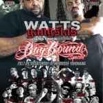 "9月30日(土)2TightRadio Presents WATTS GANGSTAS JAPAN TOUR SUPPORTED BY COCARELO 横浜公演""BAYBOUND"""