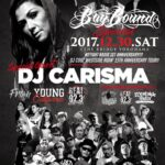 12月30日(土)IITIGHT LLC PRESENTIN -BAY BOUND-は2TightRadio 1st Anniversary!ゲストにYoung CaliforniaからDJ CARISMA
