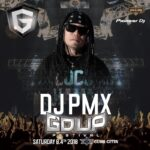 【DJ PMX出演情報】今週土曜日8月4日 2Tight Radio Presents —-G'D UP FESTIVAL—- Supported by  COCARELO