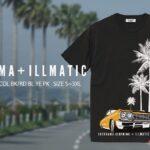 宮崎限定 LOCOHAMA + ILLMATIC コラボTシャツ第二弾、先行予約開始!