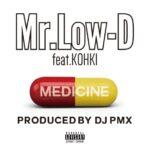 "【DJ PMXプロデュース】12/7(金)配信のMr.Low-Dのニューシングル ""MEDICINE feat. KOHKI""ジャケット写真とトレーラーを公開!"