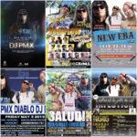 【DJ PMX出演情報】GWは大阪→広島→いわき市、酒田市→大仙市→山形市