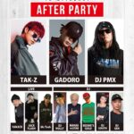 【DJ PMX出演情報】6月30日(日)GADORO「SUIGARA」RELEASE TOUR2019 アフターパーティー at SOUND BAR PHOENIX