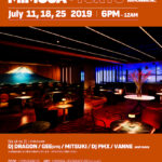"""【DJ PMX出演情報】 7月25日(木)毎週木曜は""""MIMOSA"""" at 銀座 +TOKYO"""