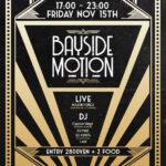 """【DJ PMX出演情報】11月15日(金)""""Bayside Motion"""" 横浜ハンマーヘッド"""