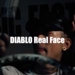 限定公開中のDIABLO – Real Face Official Music Video本日20時に解禁!